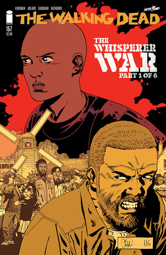 the walking dead comic book issue 126