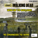 The Walking Dead scratch games (New York)