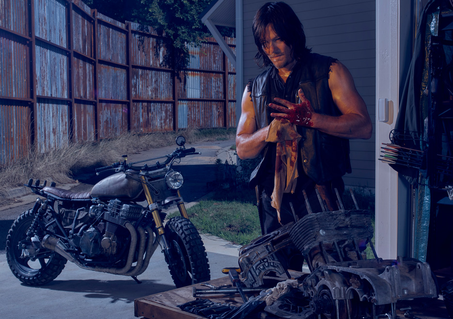 The Walking Dead Season 6 Cast Daryl Reedus 935