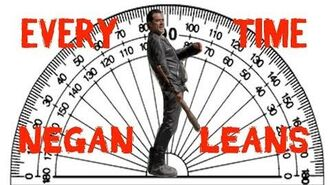 Every Time Negan Leans Back In The Walking Dead