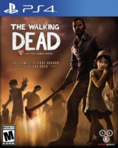 TWD GOTY PS4 Cover