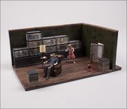 The Walking Dead TV The Governor's Room Building Set