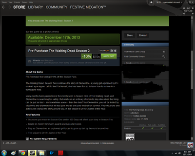 Steam 3 hours
