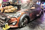 2013 Hyundai Veloster Zombie Survival Machine Walking Dead Wiki