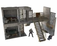 Prison Catwalk and Prison Cells (The Walking Dead TV) McFarlane Building Set