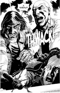 Rick's hand cut off 28x18