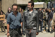 704 Negan enters Alexandria