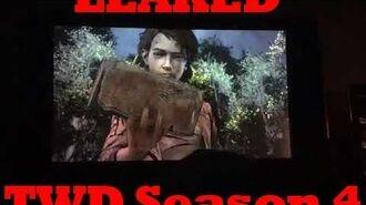 Tellltales The Walking Dead Season 4 LEAKED GAMPLAY FOOTAGE