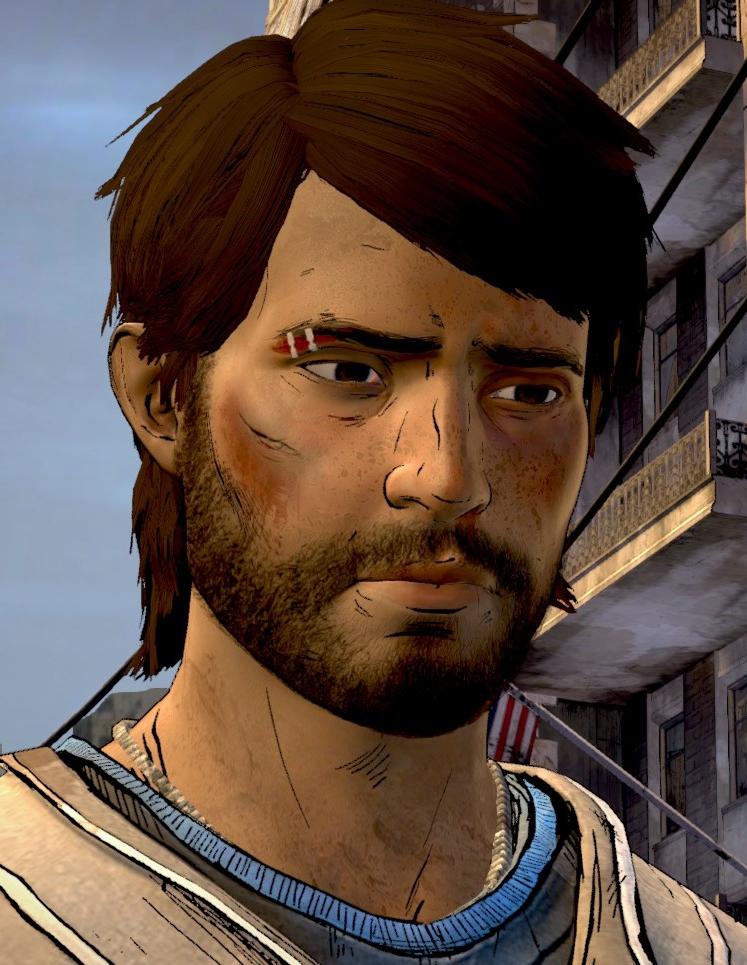 Javier Garca Video Game Walking Dead Wiki Fandom Powered By Wikia