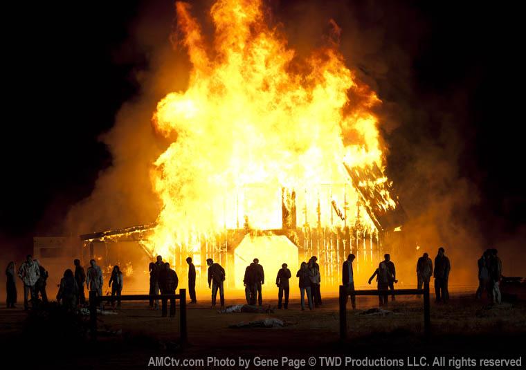 Hershel's Barn Burning