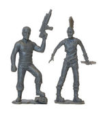 Abraham pvc figure 2-pack (grey) 2