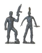 Abraham pvc figure 2-pack (grey) 2
