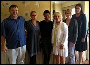 Sonequa with UCI instructors