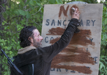 AMC NS Rick Sign