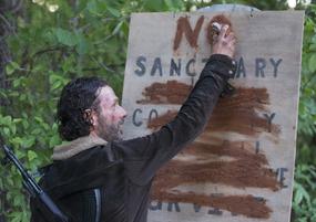 AMC NS Rick Sign