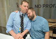 Gimple and Kirkman SDCC 13