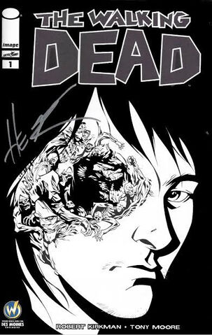File:Issue 1 Wizard World Comic Con Des Moines VIP Exclusive Variant Sketch Cover signed by Phil Hester.jpg