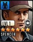 Spencer with a cap rts