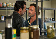 704 Rick and Negan in pantry