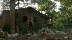 Daryl and Beth after fighting hug