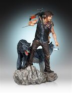Daryl and the Wolves (Regular Release) Statue 5