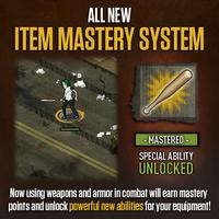 Item Mastery Update