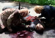 AMC 603 Walkers Devour Body