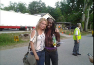 Andrea and Michonne