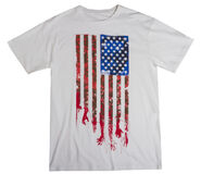 "THE WALKING DEAD ""FLAG"" T-SHIRT (MENS)"