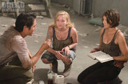 Beth, Maggie, and Glenn