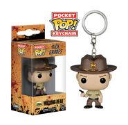 Pocket Pop! Keychain - The Walking Dead - Rick Grimes