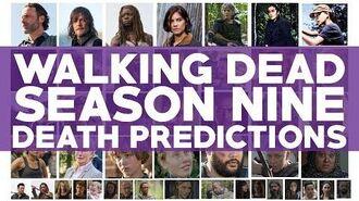 Walking Dead Season 9 Death Predictions