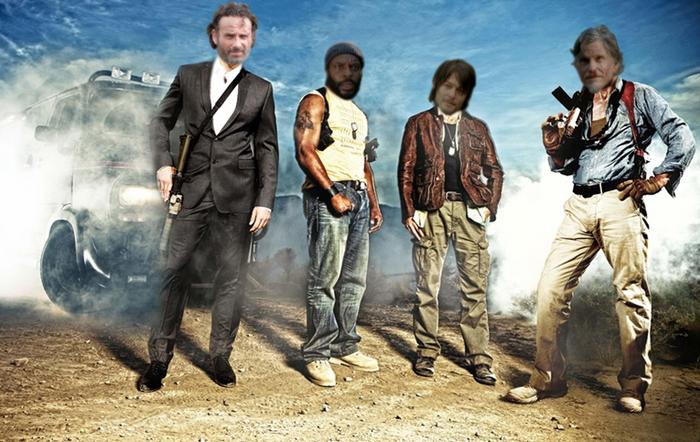 The walking team