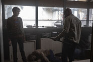 5x11 Al and Morgan kill walkers