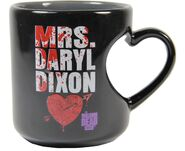 Mrs. Daryl Dixon Heart Mug 3