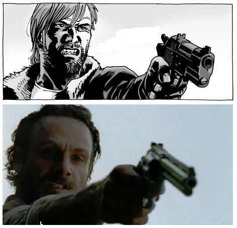 Tv comic comparison