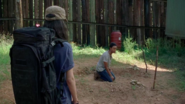 Rosita Visits Sasha at the Hilltop