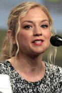 Emily Kinney 2014 Comic Con (cropped)
