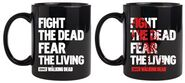 Fight the Dead Fear the Living Disappearing Mug 1