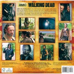 The Walking Dead 2016 Mini Wall Calendar 2