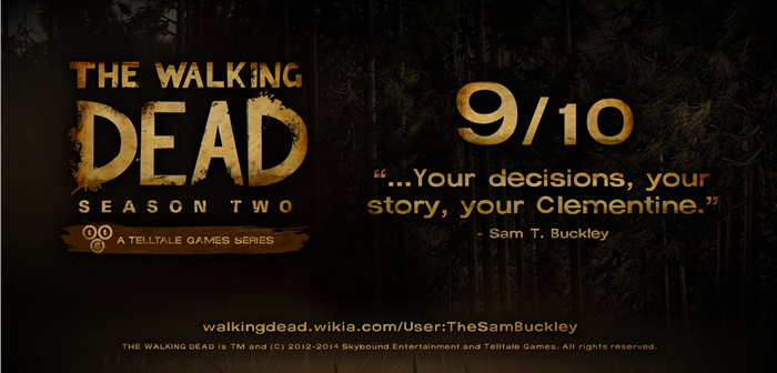 STB TWD S2 Rating
