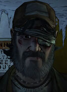 Kenny Walking Dead Video Game- No Going Back Screenshot