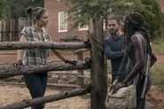 Maggie Rhee Michonne Paul Rovia 9x02 Discussion