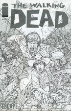 "Juan Jose Ryp ""The Walking Dead Escape"" Sketch Variant"