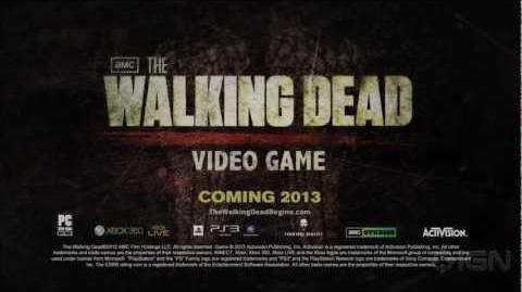 Walking Dead The Game Teaser Trailer