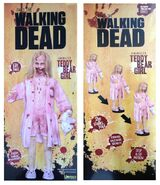 The Walking Dead Life-Size Statue Teddy Bear Girl 4
