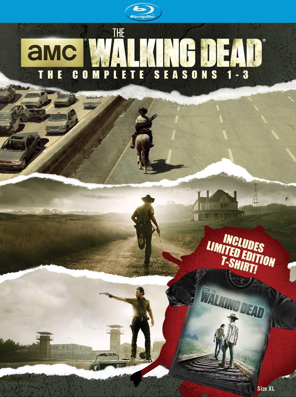 The Walking Dead The Complete Seasons 1 3 Walking Dead