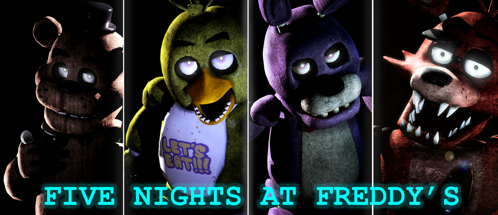 image five nights at freddy s wallpaper by shadowninja976 d86a846