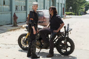 Season eight daryl and carol
