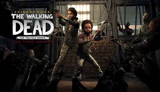 The-Walking-Dead Episode Four KeyArt